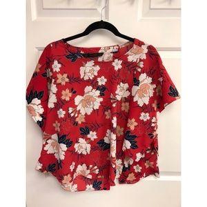 Zara kimono crop top